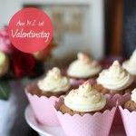 Valentinstag Sweet Table – Bananen-Schoko Cupcakes + DIY